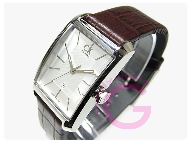 Calvin Klein(カルバンクライン)WINDOW/ウインドウ K2M23126/K2M231.26 レザーベルト レディースウォッチ 腕時計