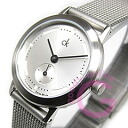 Calvin Klein CK (Calvin Klein CK) minimal upgrade K333126/K3331.26 mesh silver ladies watch watches