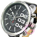 DIESEL (diesel) DZ4208 leather belt chronograph men watch watch