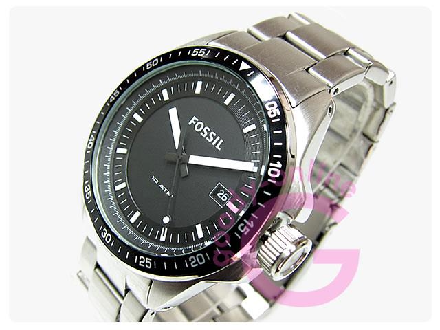 FOSSIL (フォッシル) AM4385 DECKER/デッカー メタルベルト カジュアル メンズウォッチ 腕時計