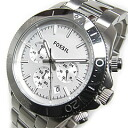 FOSSIL (フォッシル) CH2847 RETRO TRAVELER nostalgic traveler chronograph metal belt white men watch watch