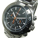FOSSIL (フォッシル) CH2864 RETRO TRAVELER nostalgic traveler chronograph metal belt gunmetal men watch watch