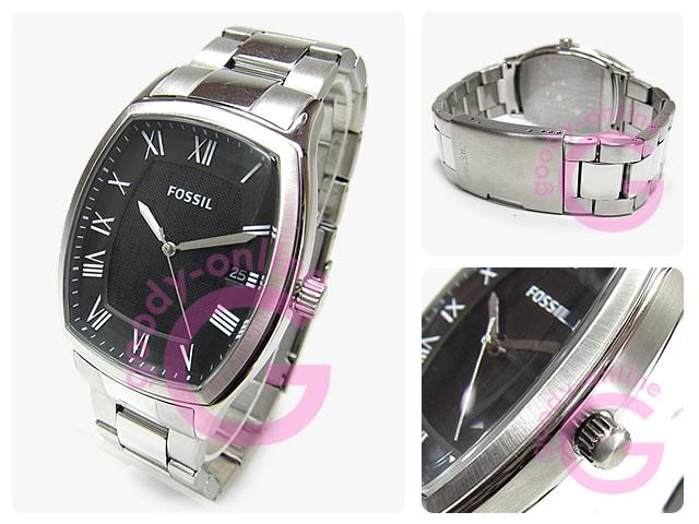 FOSSIL (フォッシル) FS4741 ANSEL/アンセル トノー メタルベルト カジュアル 腕時計