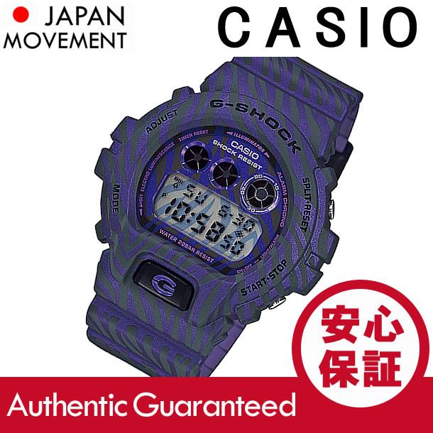 CASIO G-SHOCK(カシオ Gショック)  DW-6900ZB-2/DW6900ZB-2 ZEBRA Camouflage Series/ゼブラカモフラージュシリーズ パープル メンズウォッチ 腕時計