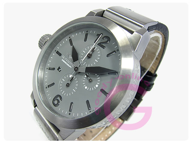 Haemmer (ヘンマー) HC45-28 MANHATTAN クロノグラフ 45mm メンズウォッチ 腕時計