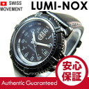 ( Luminox ) LUMINOX 7251BO/7251.BO Navy Seals Colormark and Navy Seals colormark military black leather belt ladies watch watches