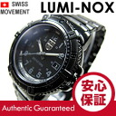( Luminox ) LUMINOX 7252BO/7252.BO Navy Seals Colormark and Navy Seals colormark military black metal belt ladies watch watches