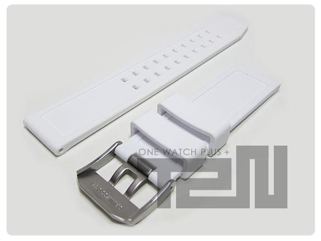 LUMINOX(ルミノックス)  FP-3050-20-WH/FP.3050.20.WH 純正 替えベルト 22mm ウレタンラバーベルト 腕時計