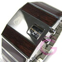 NIXON ROTOLOG (Nixon lot log) A028-401/A028401 DARK WOOD/ dark Wood men watch watch