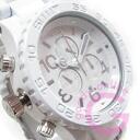 NIXON (Nixon) THE 42-20 Chrono A037-1255/A0371255 chronograph white metal belt watch watches