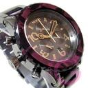 NIXON (Nixon) THE 42-20 Chrono A037-1345/A0371345 chronograph purple metal belt watch watches