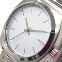 NIXON THE TIME TELLER ( Nixon time teller p ) A045-100/A045100 SS white mens watch