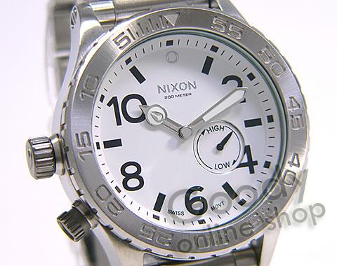 腕時計【NIXON THE 51-30(ニクソン フィフティワン・サーティー) A057-100 ホワイト 300m防水 メンズ 腕時計】