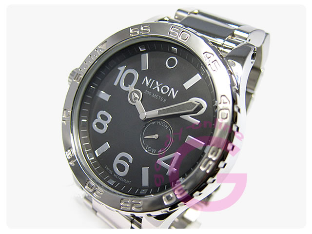 NIXON(ニクソン) 51-30 A057-487 ハイポリッシュ メタルベルト メンズウォッチ 腕時計