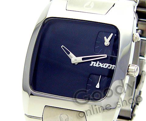 腕時計【NIXON BANKS(ニクソン バンクス) A060-000 BLACK/ブラック メンズ 腕時計】