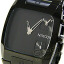 BANKS in NIXON (Nixon banks) A060-001 Black BLACK / black mens watch