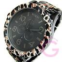 NIXON THE 51-30 (Nixon) A083-1153/A0831153 CHRONO chronograph 300 m water resistant black x Leopard Leopard print メンズウォッチウォッチ watch