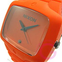 NIXON THE RUBBER PLAYER (Nixon rubber player) A139-211/A139211 Orangemen's watch watch