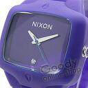 NIXON THE RUBBER PLAYER (Nixon rubber player) A139-230/A139230 purple men watch