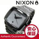 NIXON (Nixon) THE PLAYER / players A140-1062/A1401062 diamond index gunmetal metal belt watch