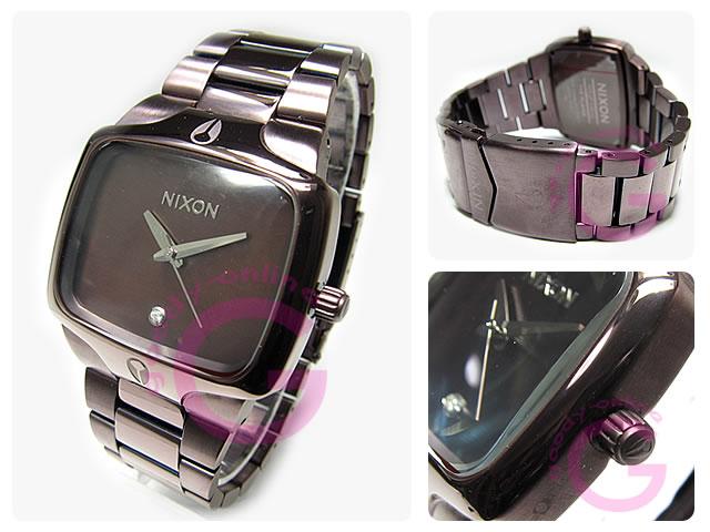 NIXON(ニクソン) プレイヤー A140-471/A140471 オールブラウン×ブラウン 腕時計