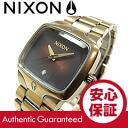 NIXON (Nixon) THE PLAYER / players A140-581/A140581 Antique Gold×Black antique gold / Black Watch