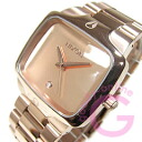 NIXON (Nixon) THE PLAYER / players A140-897/A140897 diamond index rose gold metal belt watch