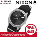 NIXON (Nixon) A344-000/A344000 THE QUAD / Quad nylon belt black mens watch watches