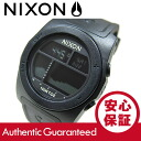 NIXON (Nixon) A385-001/A385001 THE RHYTHM / rhythm digital black rubber belt watch watches