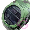 NIXON (Nixon) A385-1695/A3851695 THE RHYTHM / rhythm digital green camouflage rubber belt watch watches