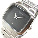NIXON (Nixon) BIG PLAYER big player men A487-000/A487000 silver X black men watch watch