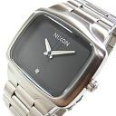 NIXON (Nixon) BIG PLAYER big player men A487-000/A487000 silver X black men watch watch