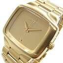 NIXON (Nixon) BIG PLAYER big player men A487-502/A487502 oar gold men watch watch