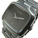 NIXON (Nixon) BIG PLAYER big player men A487-524/A487524 mat black men watch watch