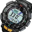 CASIO PROTREK ( Casio protrek ) PRG-240-1/PRG240-1 triple sensor tough solar powered with register ring outdoor watches