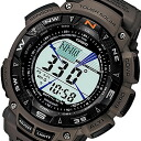 CASIO PROTREK ( Casio protrek ) PRG-240R-5/PRG 240R-5 triple sensor tough solar powered register ring with Japan yet to be released outdoors watch