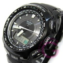 CASIO PROTREK ( Casio protrek ) PRG-510-1/PRG510-1 triple sensor tough solar powered an analog-digital watch