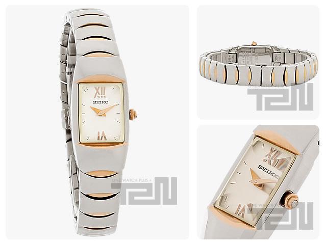 SEIKO (セイコー) SYL806 ブレスレットタイプ メタルーベルト ゴールド×シルバー コンビ レディースウォッチ 腕時計