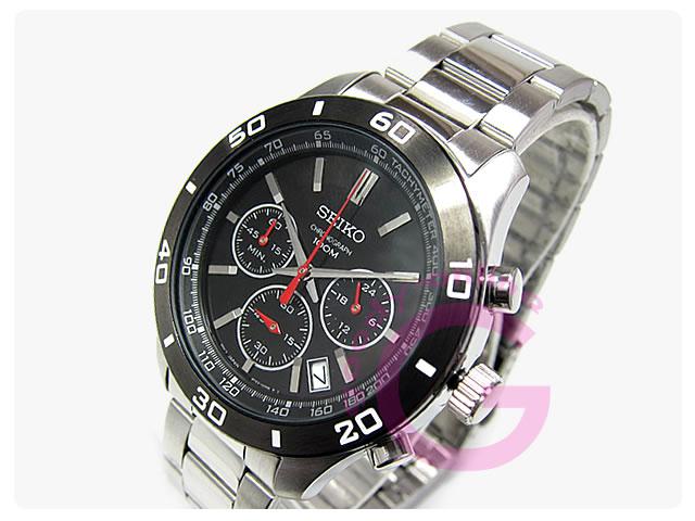 SEIKO(セイコー) SSB053P1 クロノグラフ メタルベルト メンズウォッチ 腕時計