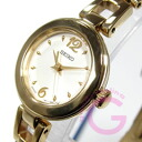SEIKO (SEIKO) SXGN80P1 quartz round metal belt gold Lady's watch watch