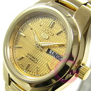SEIKO5 ( Seiko ) SEIKO / Seiko 5 SYMC18K1 automatic hand-wound wound with gold ladies watch watches