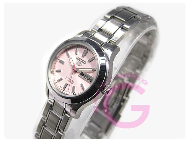SEIKO5(セイコーファイブ) SYMD91K1 自動巻き レディースウォッチ 腕時計