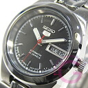 5 SEIKO (SEIKO) SEIKO5/ SEIKO SYMG55J1 self-winding watch rolling by hand black Lady's watch watch with