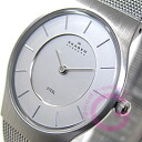 SKAGEN ( Skagen ) 233 LSS ultra slim stainless steel mesh silver mens watch