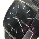 SKAGEN (scar gene) 396LTMB ultra slim square titanium mesh black men watch watch