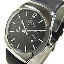 583 XLSLB (Skagen) at SKAGEN ultra slim leather belt Black / Silver mens watch watches