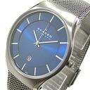 SKAGEN (Skagen) 956 XLTTN. Titanium titanium mesh belt silver mens watch watches