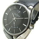 SKAGEN (scar gene) 989XLSLB nostalgic grad calendar leather belt black men watch watch