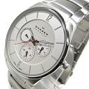 SKAGEN ( Skagen ) SKW6002 AKTIV / Aktiv multifunction metal belt silver mens watch