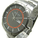 SKAGEN ( Skagen ) SKW6008 AKTIV / Aktiv Titanium titanium day date calendar metal belt grey men's watch
